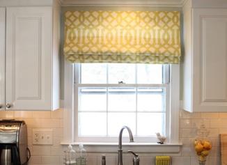 Installing roman blinds